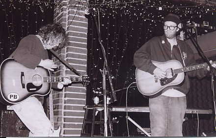 Bennett and Burch on tour 2003
